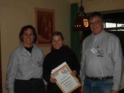 Abschluss Ausbildung Hufpflegerin 2011
